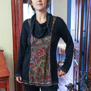 Parsley & Sage Artsy long sleeve top